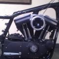 mesin hd sportster xl883, kabel set dan rangka