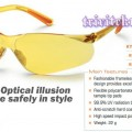 Kaca mata King'S ky 218F,safety eyewear amber glass king ky218F,