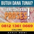 pinjaman dana online jaminan bpkb
