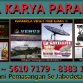 Ahli Pasang Parabola Venus System DISTRIBUSI / MA TV Area JAKARTA