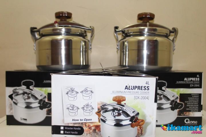 OX2004 Alupress Panci Presto Oxone Ukuran 4 8 12 20 dan 40 Liter Pressure Cooker Maxim ...