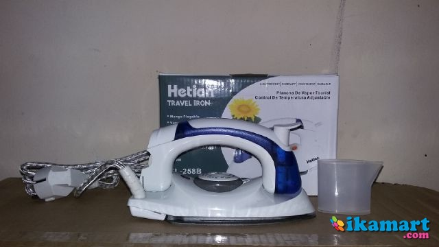 Setrikaan Travel Mini Steam Iron Soarin 2in1 Setrika Uap Lipat Sterika Alat Penghalus Pakaian Philips ...