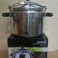 OX 2040 Oxone Alupress Panci Presto Aneka Ukuran Pressure Cooker Alumunium Maxim Cepat Matang