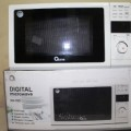 Oxone GARANSI ASLI OX76D Microwave Digital Oven Listrik Mikrowef 20L Pemanggang Cosmos