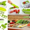 Genius Nicer Dicer Plus Multi Chopper 11in1 Pemotong Buah Sayur Parutan Salad