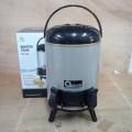 Water Tank OX 125 Tempat Air Minum Oxone Dispenser Stainles 2 Keran Wadah Minuman Panas Dingin