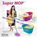Super Mop Aristo Hand Press Pengering Otomatis Alat Pel Lantai Bolde Supermop Deluxe Premier