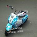 New Scoopy Mini Electric Warna Terbaru