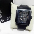 Alexandre Christie 3029MA Black Case Black Leather