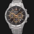 jam Seiko Chronograph SKS521P1 Black Dial Gold
