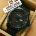 jam Naviforce Original Black Red