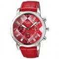jam Casio Sheen Shn 5010 Silver Red