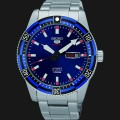 jam Seiko 5 Sports SRP731K1 Blue Dial Stainless