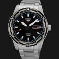 jam Seiko 5 Sports SRP733K1 Black Blue