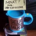 grosir gelas pengaduk otomatis/gelas mixer/self stirring mug
