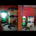 lentera multi fungsi emergency mitsuyama + lampu disco & power bank