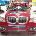 Mobil Aki HE210 (Putih-Merah)