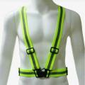 rompi karet hijau,safety vest rubber reflective elastic V shape