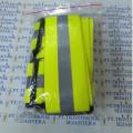 rompi karet kuning,safety vest rubber reflective elastic V shape