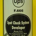 Ups f666 spotcheck developer,NDT system keretakan logam