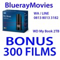 WD My Book 2TB Bonus isi 300 Films BluRay 720p