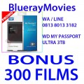 WD My Passport Ultra 3TB Bonus isi 300 Films BluRay 720p