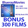 WD My Book 3TB Bonus isi 300 Films BluRay 720p