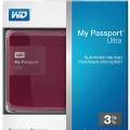 WD My Passport Ultra 3TB Harddisk External