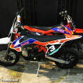 Motor Mini Trail Red Bull 110cc