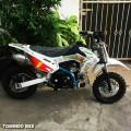 Motor Mini Trail VTX 75cc