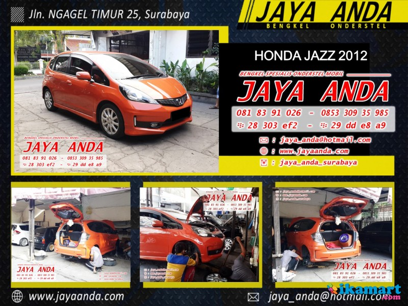 Bengkel onderstel HONDA di Surabaya . Jaya Anda - Aksesoris Mobil