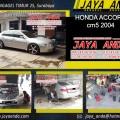 Perbaikan Kaki kaki Honda  civic accord city brio mobilio oddysey crv di Bengkel JAYA ANDA Surabaya