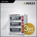 Gas Deck Oven 3 Deck 9 Try Bov Arf90h