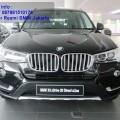 Info Promo BMW X3 2.0 Diesel xLine 2016 Bunga 0% Dealer Resmi BMW Jakarta