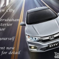 New Honda City Facelift 2017 dengan lampu depan Full LED.
