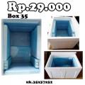 box ikan styrofoam, box ikan untuk mancing,