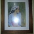 Lukisan Wanita Desa Antik Dan Klasik