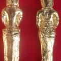 Cincin Perunggu Kuno Lapis Emas Murni Asli Temuan Sungai Berantas