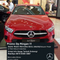Promo DP Ringan NEW Mercedes Benz A 200 Progressive