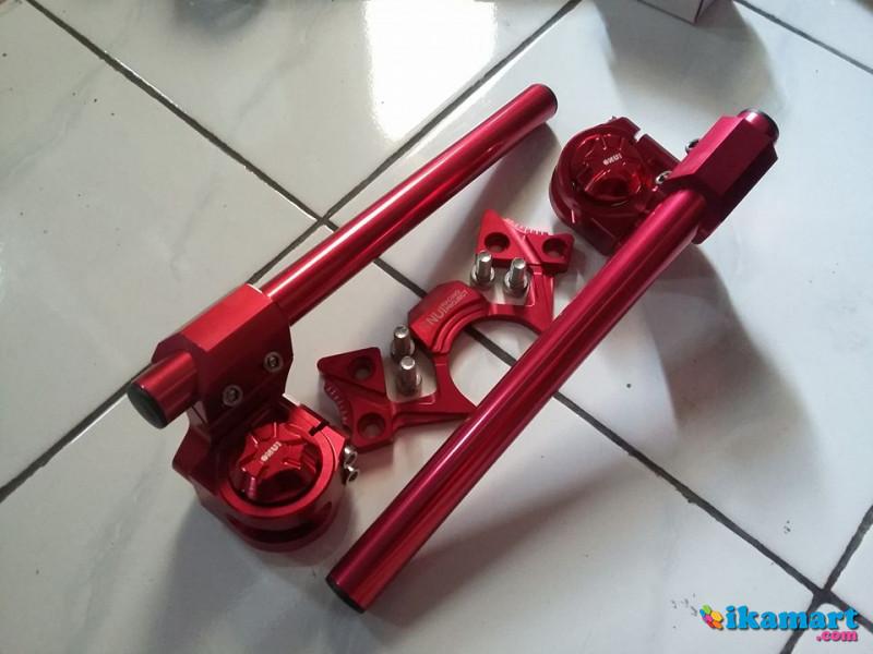 Stang Set Nui Project Ninja 250 RFiZ Full Red