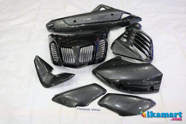 carbon dgital printing yamaha nmax set aksesoris motor