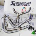 Header 4-2-2 Akrapovic Originally made in Slovenia for kawasaki Z1000 ( 2011-2017 )