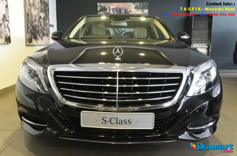 Promo Mercedes Benz S 400 L Exclusive Ready Stock Mobil