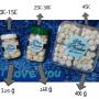 Bola susu bandung (milk balls)