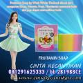 FRUITAMIN SOAP SABUN PEMUTIH tubuh  / 081291625333 / 2B19BBCE