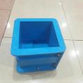 Jual Cetakan Kubus Beton Bahan Fiber/Plastik 15x15x15cm Hub 081288802734