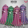 Baju Pesta Sari India FS2349 + Selendang