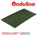 ATAP ONDULINE WRN HIJAU (2000x95x3 mm) - FREE SEKRUP 14 PCS