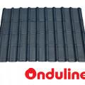 GENTENG ONDUVILLA WRN ANTHRACITE BLACK  (1060 x 40 MM) - FREE SEKRUP 5 PCS