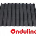 GENTENG ONDUVILLA WRN EBONY BLACK (1060 x 40 MM) - FREE SEKRUP 5 PCS